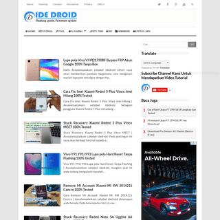 ArchiveBay.com - idedroid.com - Ide Droid - Flashing guide, Tutorial, Smartphone