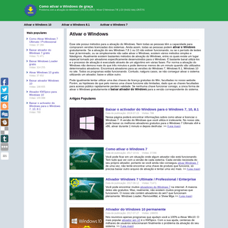 ArchiveBay.com - activador-windows.com - Como ativar o Windows de graça