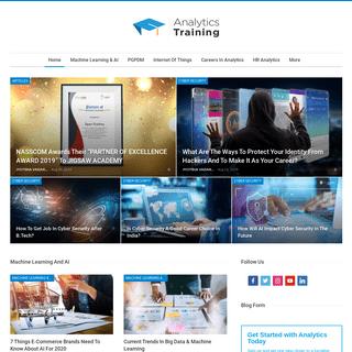 Analytics Training Blog - Analytics Training Blog