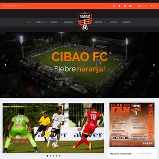 Inicio - Cibao Fútbol Club