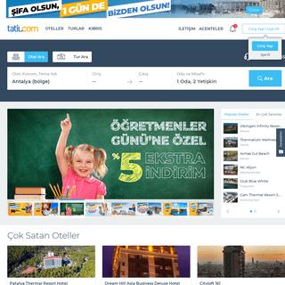 Tatil.com - Erken Rezervasyon Tatil Fırsatları, Turlar ve Uçak Bileti