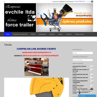 Empresas Vergara Chile – Venta de maquinaria, Carros de arrarstre y Materiales de construcción