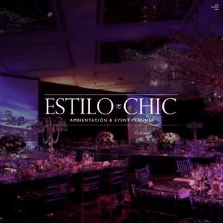 ESTILO CHIC - Ambientación & Event Planner