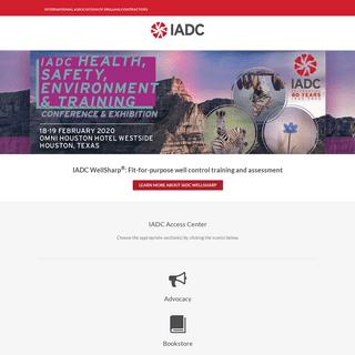 IADC - International Association of Drilling Contractors