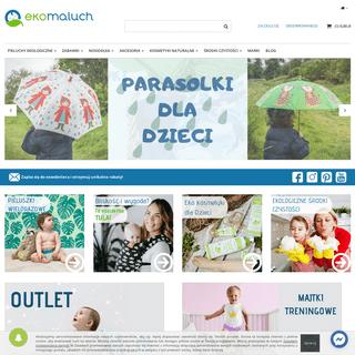 Ekologiczny sklep internetowy z artykułami dla niemowląt, dzieci i mam - ekoMaluch.pl