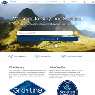 Home - Gray Line Scotland