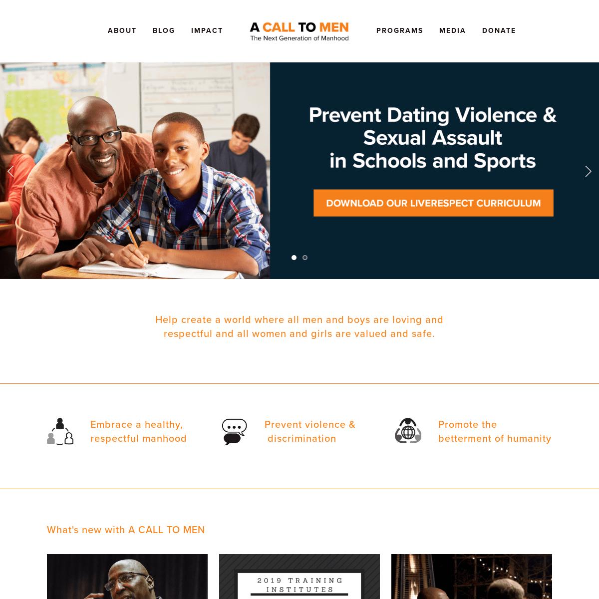 ArchiveBay.com - acalltomen.org - A Call To Men