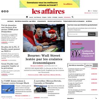 ArchiveBay.com - lesaffaires.com - LesAffaires.com - Actualités Économiques, Bourse et Finances