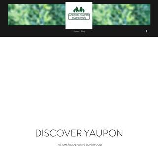Home - American Yaupon Association