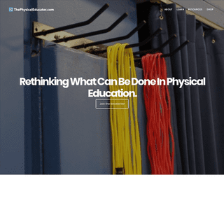 Rethinking What Can Be Done in Physical Education