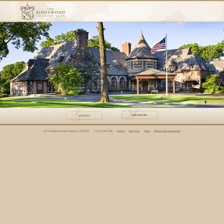 Welcome - Ridgewood Country Club