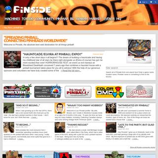 Welcome to Pinside! - Pinside.com
