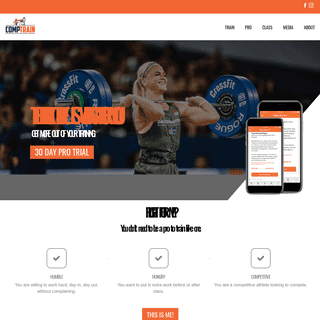 CompTrain - CrossFit Training for the World's Fittest Athletes