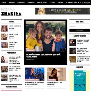 Shakira- PortalShakira - Sua fonte diária de informação. Fotos, vídeos, notícias, promoções e tudo sobre a cantora latina