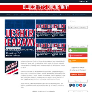 ArchiveBay.com - blueshirtsbreakaway.com - Home - Blueshirts Breakaway