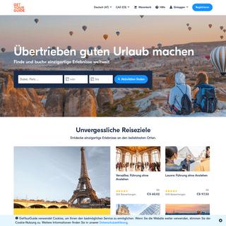 Aktivitäten, Touren & Sehenswürdigkeiten online buchen - GetYourGuide