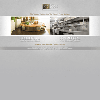 John Boos & Co. - Wood Cutting Boards - Butcher Blocks - Kitchen Countertops - Stainless Steel Foodservice Equipment
