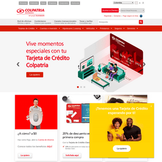 ArchiveBay.com - colpatria.com - Banco Colpatria
