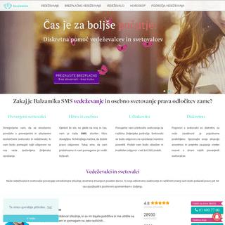 ArchiveBay.com - balzamika.si - Brezplačno SMS svetovanje in vedeževanje - Balzamika