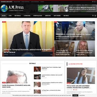 Agentia de Presa A.M. Press - Stiri de ultima ora din Romania