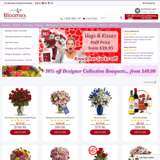 Flowers and Gift Hampers - Florist Australia - Flower Delivery - Flower Shop - Send Flowers Online