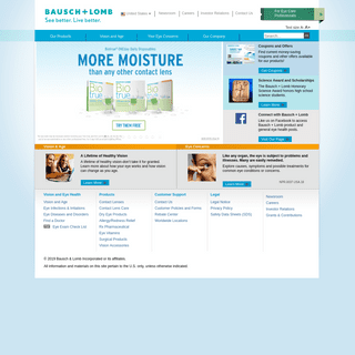 Official Home Page - Bausch + Lomb