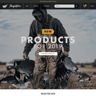 Tanglefree Waterfowl - Field-proven decoys, gear and accessories. – Tanglefree Shop