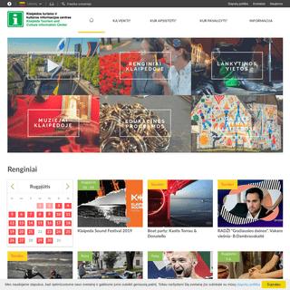Klaipėdos turizmo ir kultūros informacijos centras - Klaipėdos TIC