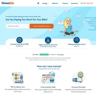 Compare Online & Save Money on Bills - CheapBills