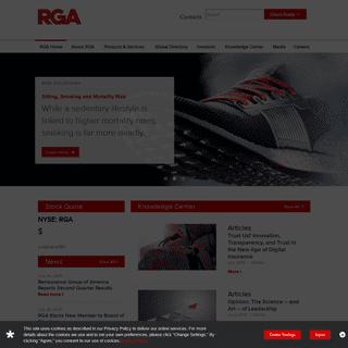 Reinsurance Group of America Home