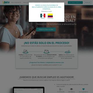 El Único Portal de Empleo en el Área Comercial - VincuVentas Colombia
