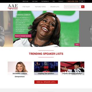 Speakers Bureau- Book Top Business, Keynote, Celebrity Speakers