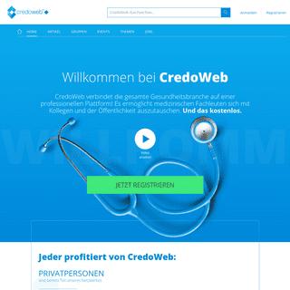 CredoWeb - das Gesundheitsnetzwerk!