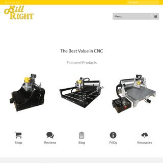MillRight CNC - Affordable Desktop CNC Machines