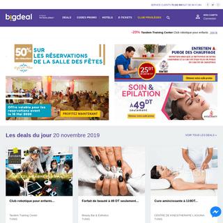 BIGDeal - tous les meilleurs deals en Tunisie
