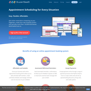 ArchiveBay.com - supersaas.com - Appointment Scheduling and Reservation Booking Calendar