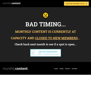 Monthly Content - Unlimited PLR And MRR