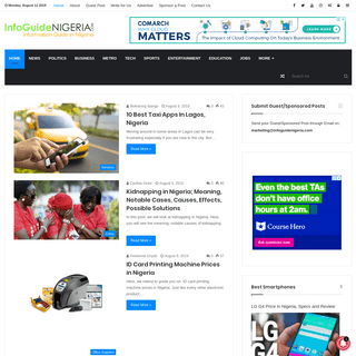 Information Guide in Nigeria - Your Daily Living Guide in Nigeria
