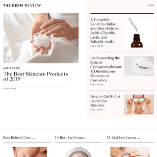 ArchiveBay.com - thedermreview.com - Home Page - The Dermatology Review