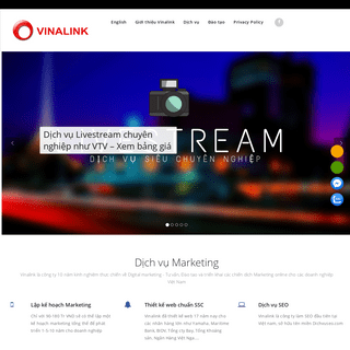 Vinalink - Tư vấn chiến lược marketing - Digital Marketing agency