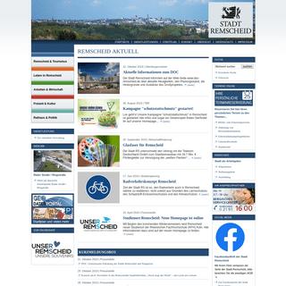 Stadt Remscheid - Startseite