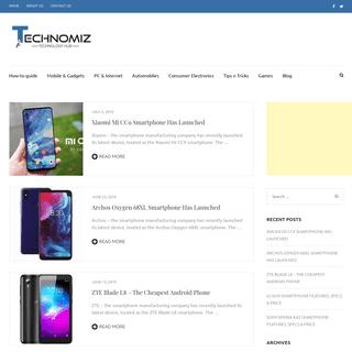 Technomiz - Technology Hub