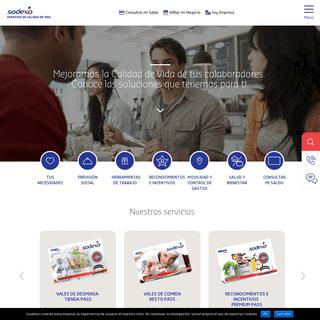 Sodexo Beneficios México- La empresa líder mundial en calidad de vida con soluciones como vales, tarjetas de prepegago y moned