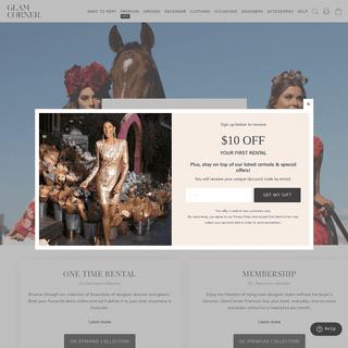 Dress Hire - Rent Designer Dresses in Australia - GlamCorner