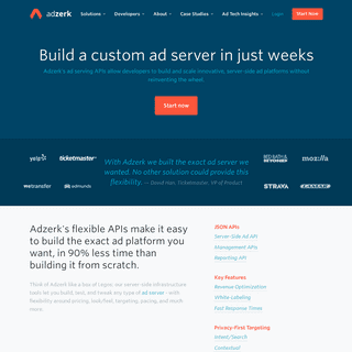 Build an Ad Server in Weeks - Adzerk