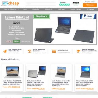 My Cheap Laptop – Your One Stop Cheap Laptop Shop