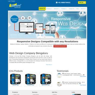 Web Design Company Bangalore- Zeeways Web Development