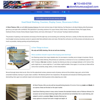 ArchiveBay.com - buystorefixtures.com - Used Gondola Shelving, Used Retail Shelving, Store Shelving, Displays