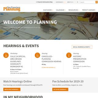 San Francisco Planning - SF Planning