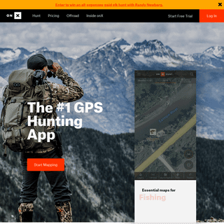 Best Hunting App - Offline Land Ownership Hunting GPS Maps - onX